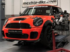 Mcchip-dkr оснастил MINI Cooper JCW 2,0-литровым мотором TFSI