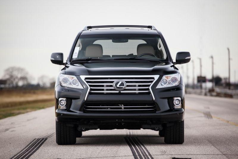 Hennessey Performance добавил мощности Lexus LX 570