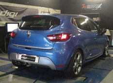 Digiservices добавил мощности Renault Clio GT 120