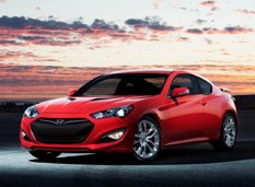 Hyundai слегка обновил Genesis Coupe на 2014-й год