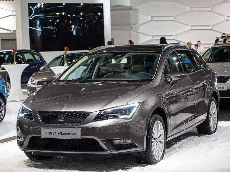 Seat представил полноприводный универсал Leon ST 4Drive