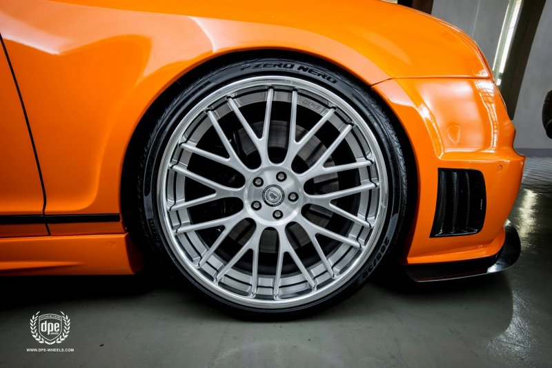 Bentley Continental Black Bison на дисках DPE Wheels