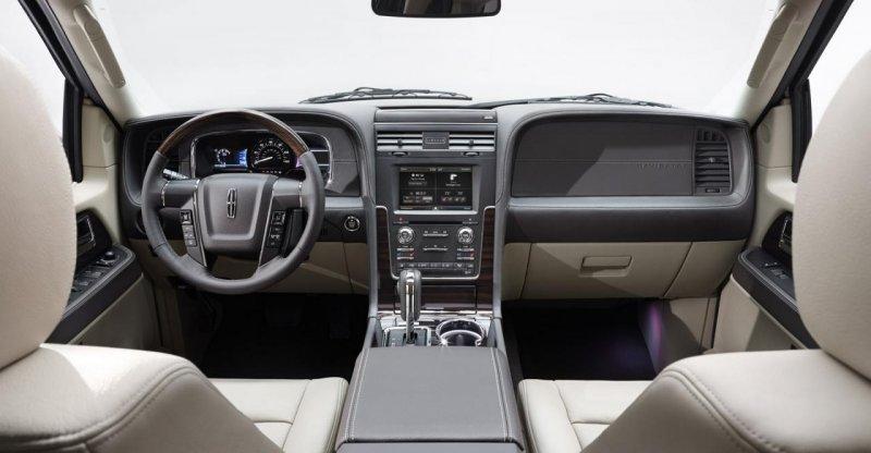 Lincoln рассекретил внедорожник Navigator 2015 года