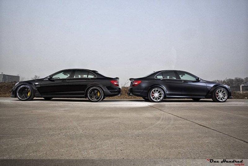Mercedes-Benz C63 AMG от RENNtech