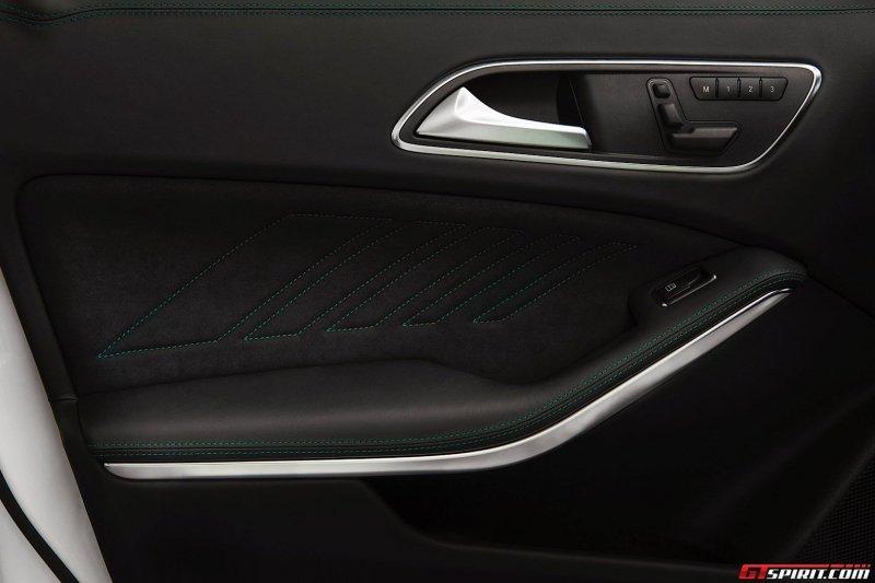 Mercedes-Benz представил A45 AMG Petronas Green Edition