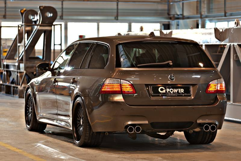 820-сильный BMW M5 Hurricane RR Touring от G-Power