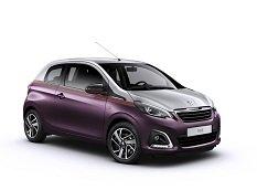 Peugeot рассекретил новый городской хэтчбек 108