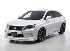 Wald International доработал Lexus RX F SPORT