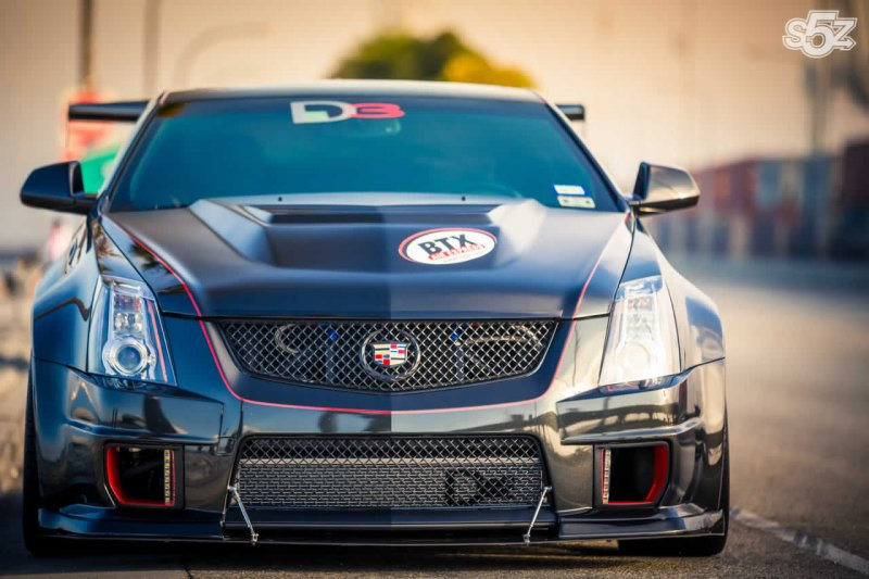 Cadillac CTS-V Coupe в тюнинге D3 Cadillac