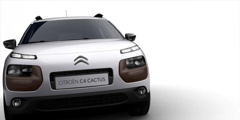 Citroen рассекретил серийную версию кроссовера C4 Cactus