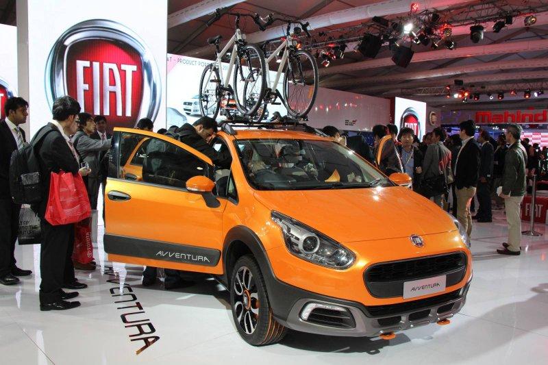 Нью-Дели 2014: Fiat представил кроссовер Avventura