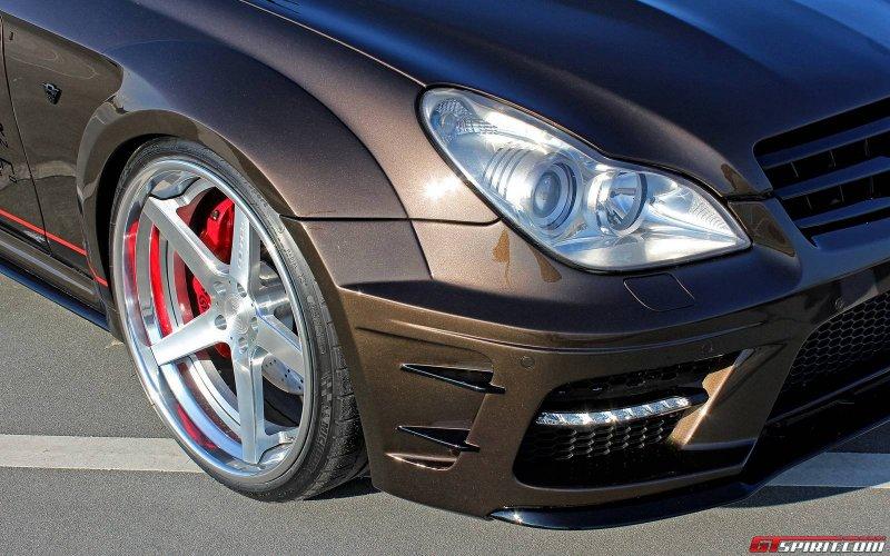 Mercedes-Benz CLS W219 от Prior Design и M&D