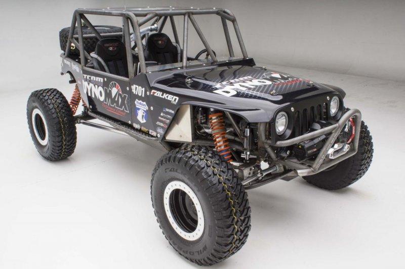 Mopar подготовил Jeep Wrangler для гонок