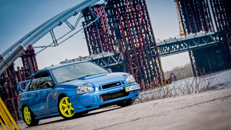Subaru Impreza STI по прозвищу «Субарышня»