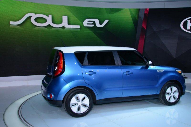 Чикаго 2014: Kia представила электрический кроссовер Soul EV