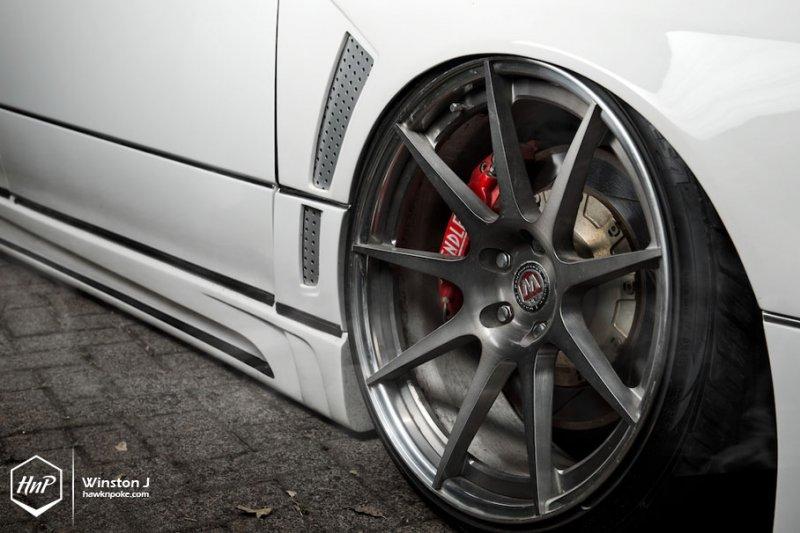 Toyota Aristo в роскошном индивидуальном тюнинге
