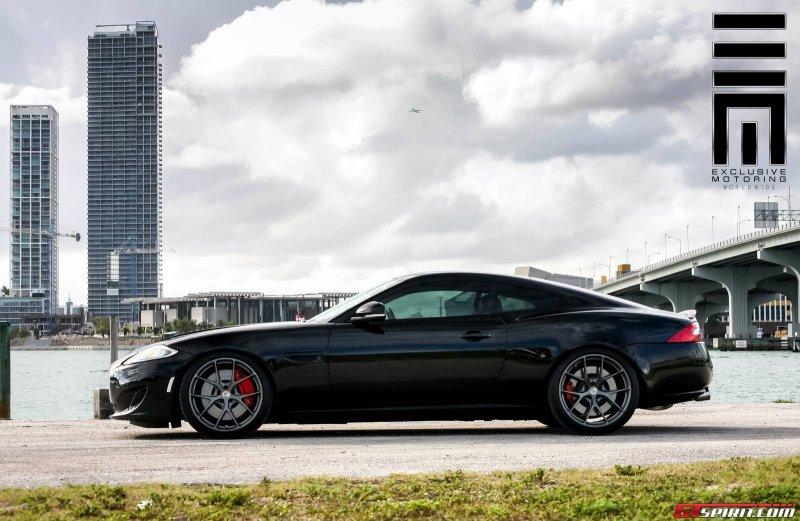 Jaguar XKR в исполнении Exclusive Motoring