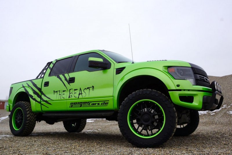 Geigercars презентовал Ford F-150 SVT Raptor The Beast