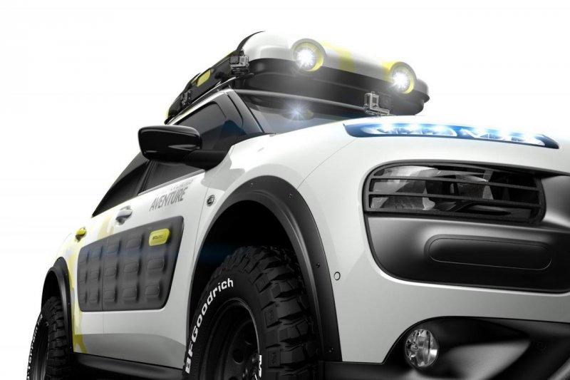 Citroen построил внедорожный концепт C4 Cactus Aventure