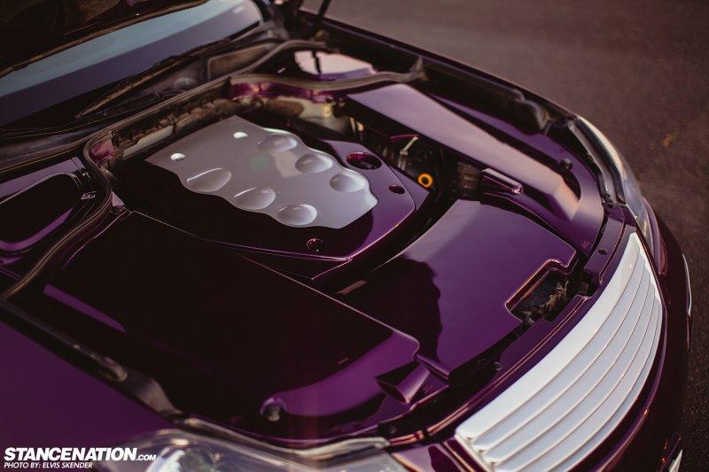 Уникальный шоу-кар на базе седана Infiniti M35