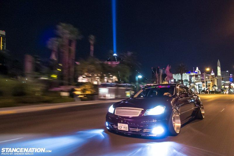 Уникальный VTP шоу-кар на базе седана Infiniti M35