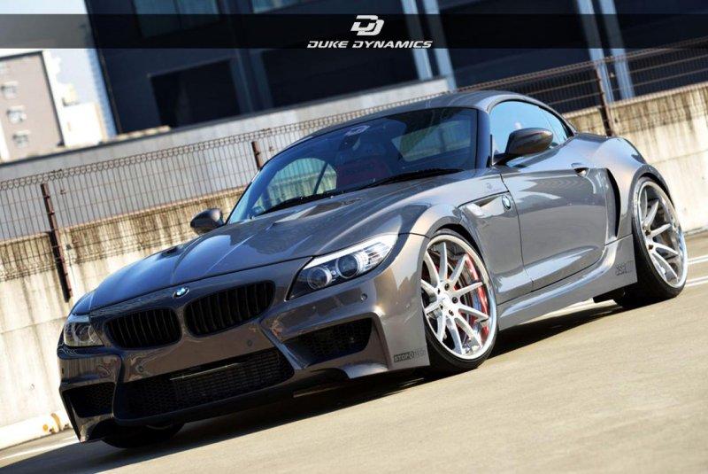 BMW Z4 в широком обвесе Duke Dynamics