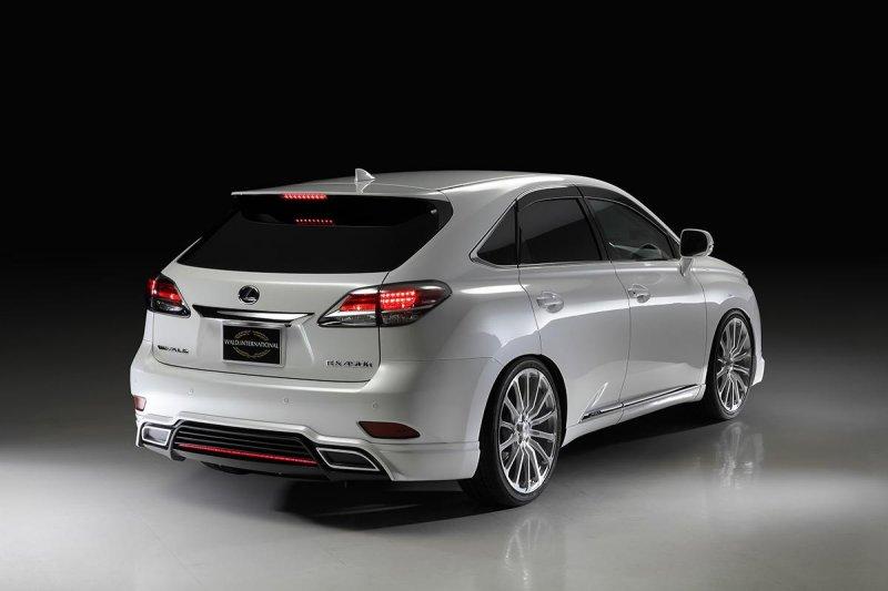 Wald International доработал Lexus RX F SPORT