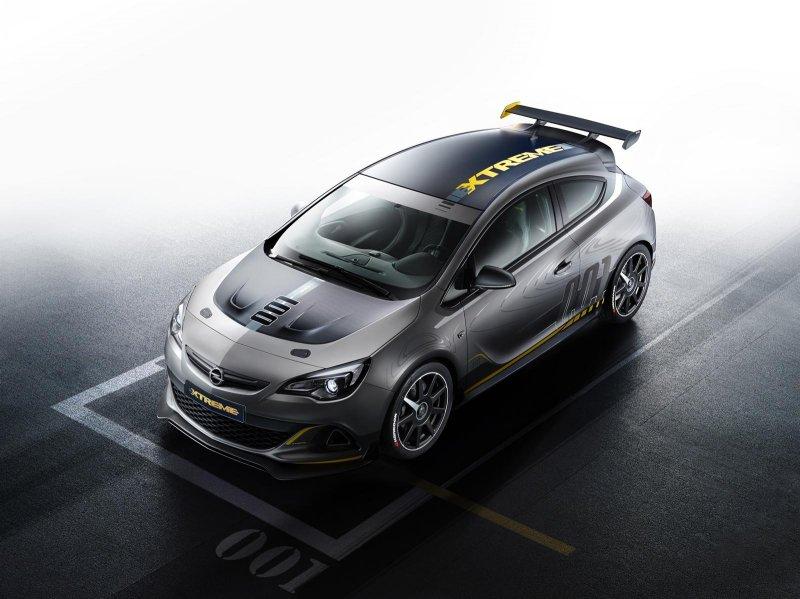 Opel представил экстремальный хэтчбек Astra OPC Extreme