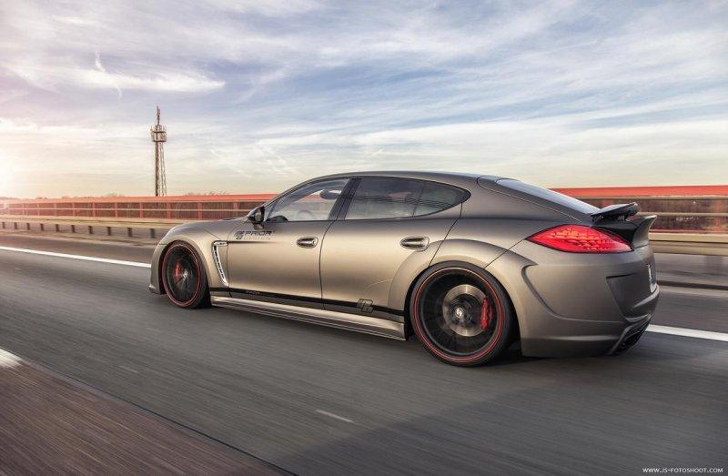 Porsche Panamera Prior600 WB от Prior Design