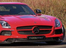 Domanig увеличил мощность Mercedes SLS Black Series до 800 л. с.