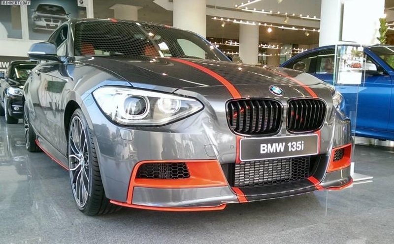 BMW M135i M Performance Special Edition из Абу-Даби