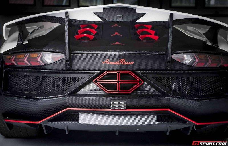 Lamborghini Aventador в агрессивном обвесе Nimrod Performance