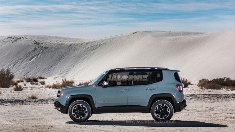 В Женеве покажут компактный кроссовер Jeep Renegade