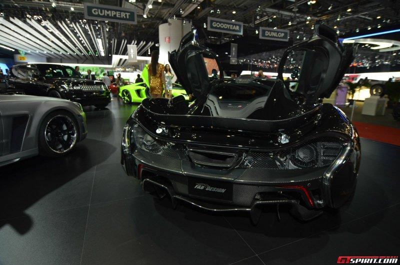 Женева 2014: McLaren P1 от FAB Design