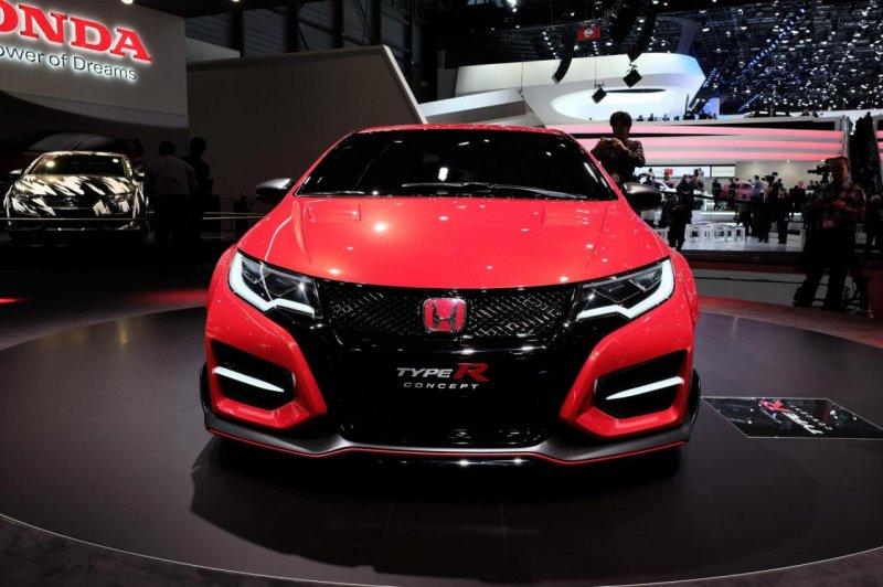 Женева 2014: Honda показала концептуальный Civic Type R