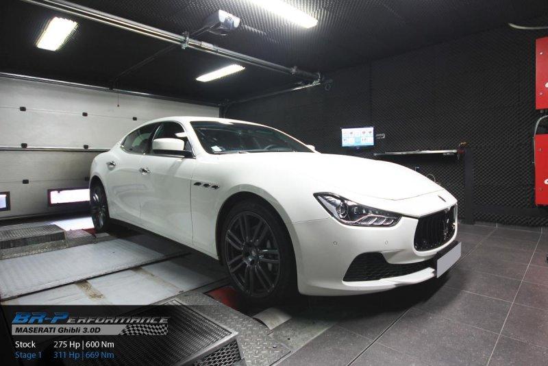 BR-Performance добавил мощности Maserati Ghibli Diesel