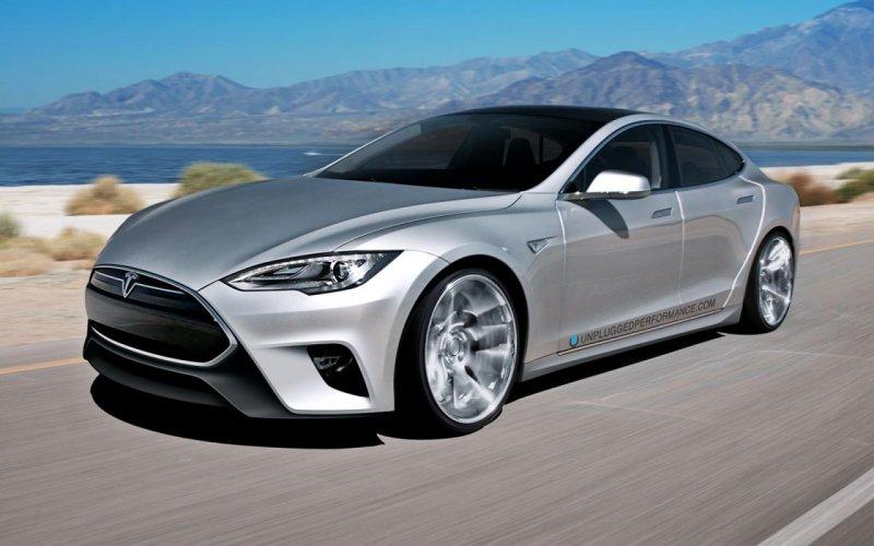 Unplugged Performance разработал тюнинг-пакет для Tesla Model S
