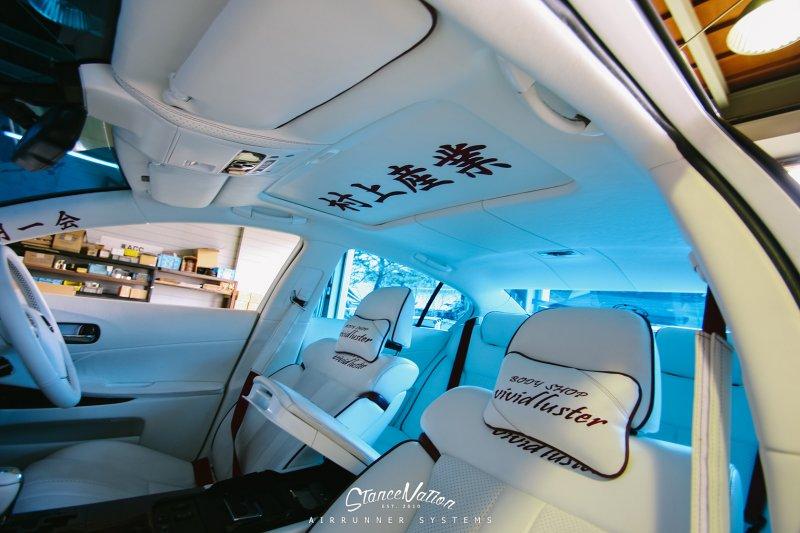 Lexus GS350 в оригинальном японском тюнинге