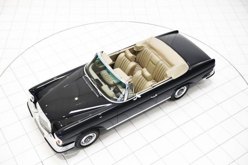 Brabus восстановил кабриолет Mercedes-Benz 280 SL W111