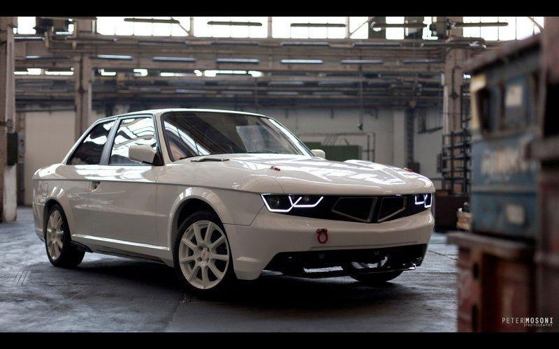 BMW 3-Series Coupe (E30) в неординарном тюнинге TMCars
