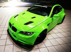 BMW M3 Coupe (E92) от Liberty Walk и iPE Innotech