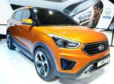 Пекин 2014: Hyundai представил концепт нового кроссовера ix25