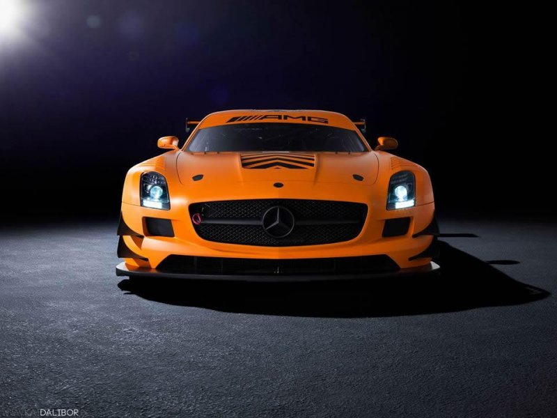 Mercedes-Benz SLS AMG GT3 45th Anniversary Edition от Sievers Tuning