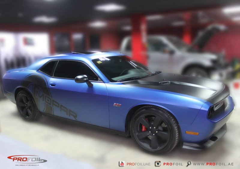 Dodge Challenger SRT8 от ProFoil