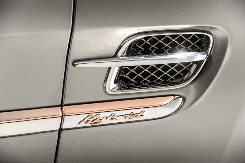В Пекине покажут гибридную версию Bentley Mulsanne