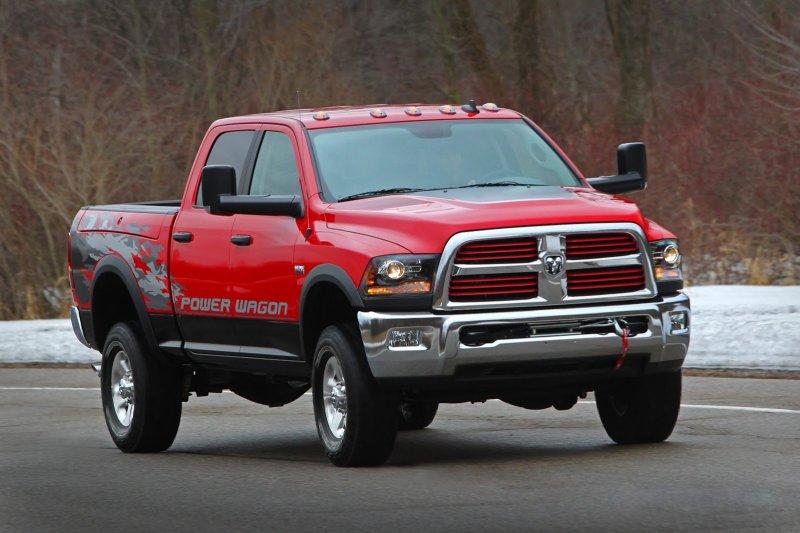 Chrysler оснастил Ram Power Wagon 6,4-литровым двигателем Hemi V8