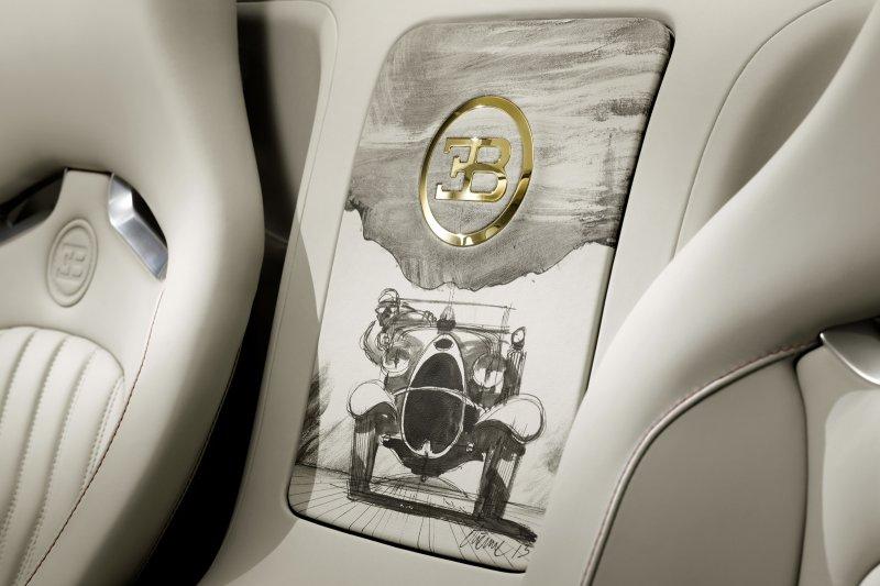 Bugatti представил Veyron Grand Sport Vitesse Black Bess