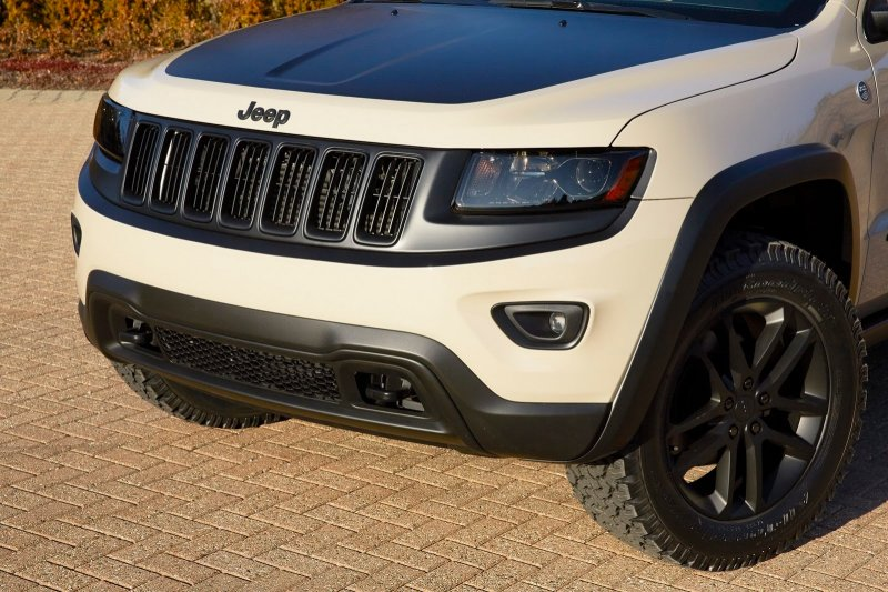 Jeep подготовил прототип Grand Cherokee EcoDiesel Trail Warrior