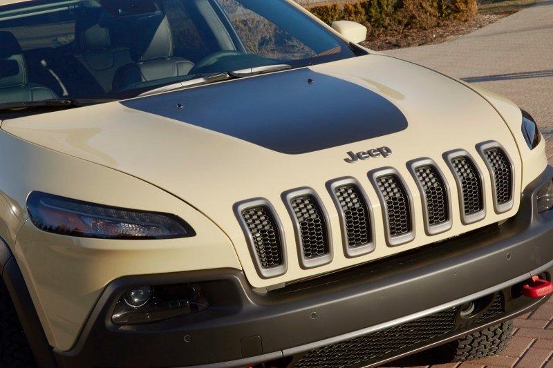 Jeep покажет новые концепты Cherokee Dakar и Cherokee Adventure