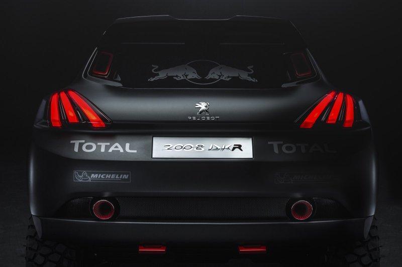 Peugeot построил моноприводный раллийный болид 2008 DKR
